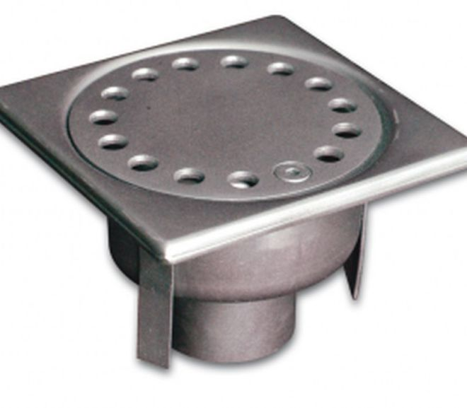 Standard siphon in stainless steel 304 L for Pharmaceutical Plants
