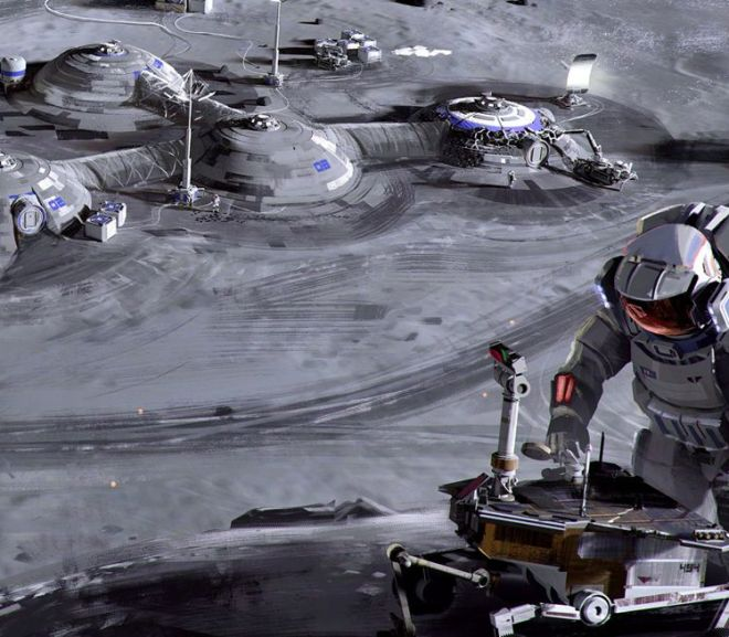 How to build a Moon base