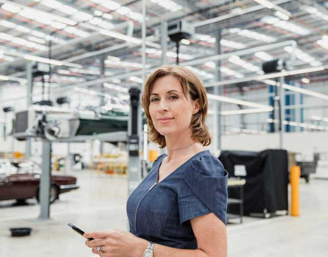 The manufacturing industry is improving its gender diversity, except for leadership roles