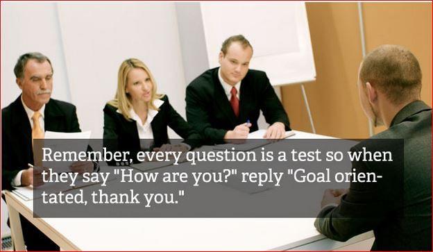 Job Interview Tips – in photos