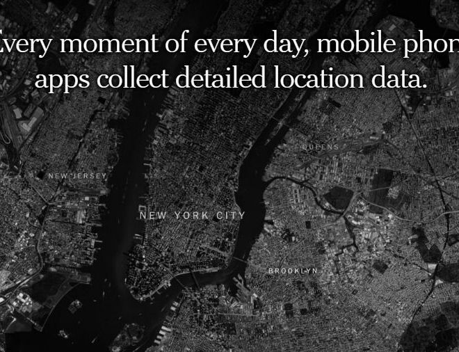 Every moment of every day, mobile phone apps collect detailed location data