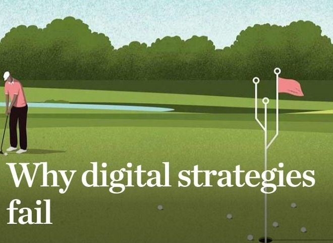 Why digital strategies fail