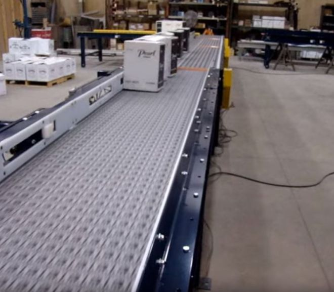 Activated Roller Belt Conveyor Applications – Youtube video