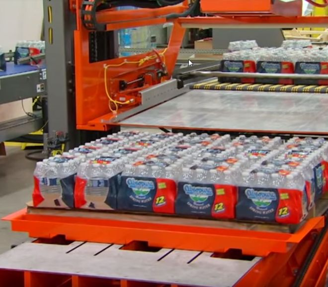 PriorityPal Low Level Case Palletizer – Youtube video