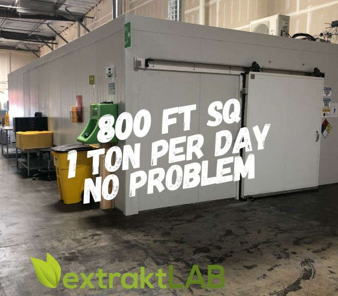 Cannabis Extraction Business to Process One Ton per Day