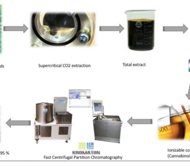 Cannabinoid Extract Purification with FCPC