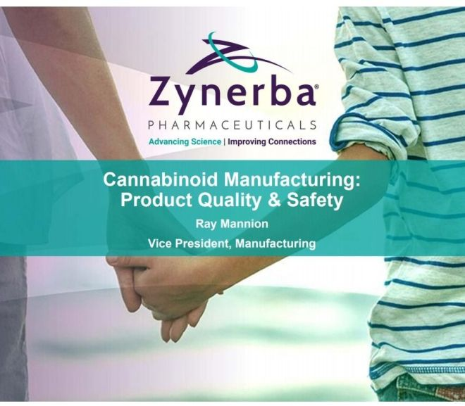 Cannabinoid Manufacturing: Product Quality & Safety – FDA presentation PDF