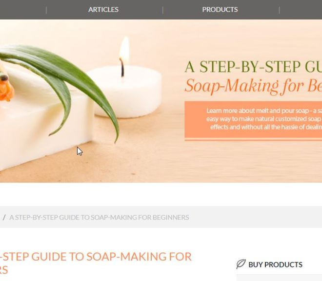 A STEP-BY-STEP GUIDE TO SOAP-MAKING FOR BEGINNERS