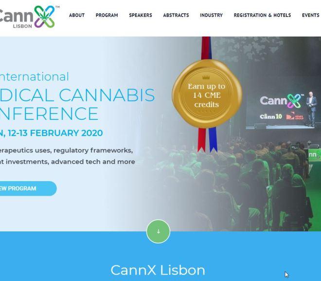 CannX – MEDICAL CANNABIS CONFERENCE – Lisbon 12 – 13 Feb 2020