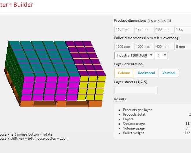 Pallet Pattern Builder