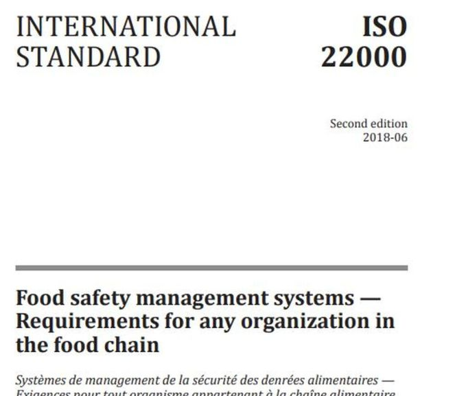 INTERNATIONAL STANDARD ISO 22000 (Food safety management systems)  – Free PDF Download