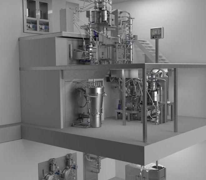 GEA continuous plant lands ISPE FOYA for Janssen