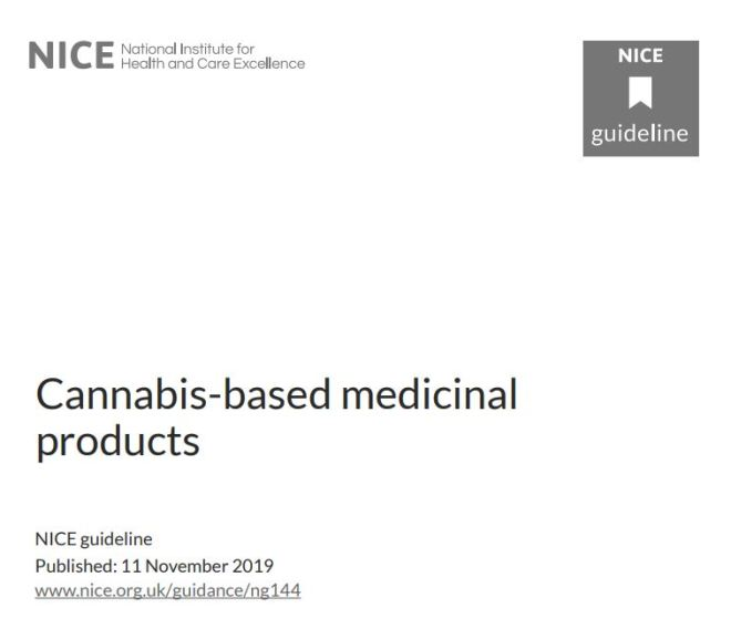 Cannabis-based medicinal products (NICE Guideline) – Free PDF Download