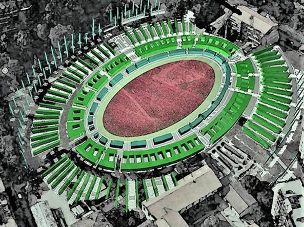 anfiteatro verde