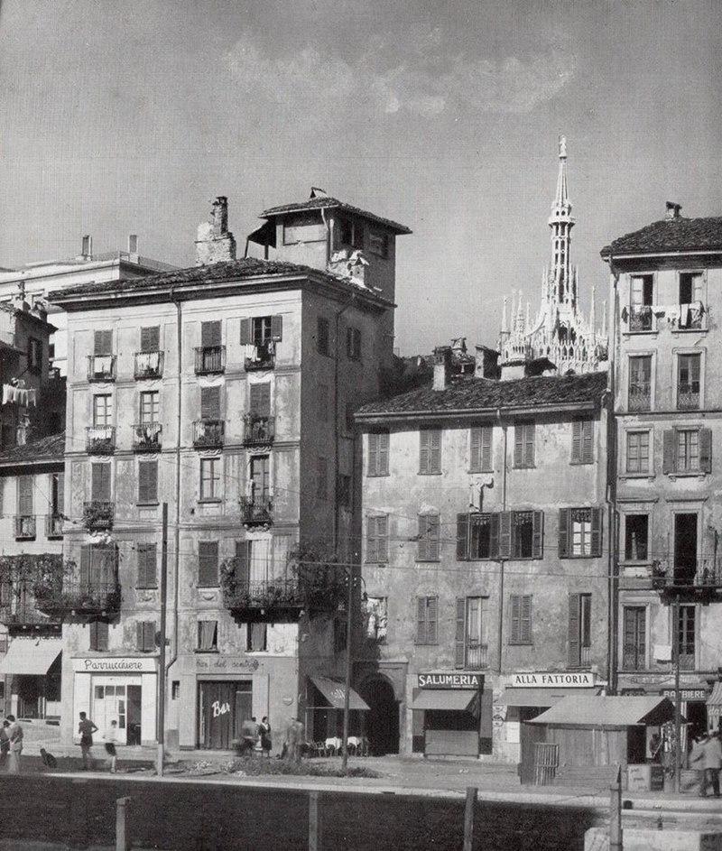 Il quartiere Bottonuto negli anni trenta del XX secolo