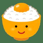 福岡糸島にぎやかな春のつまんでご卵の濃厚卵ご飯