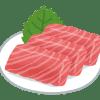 熊本の郷土料理高級馬刺しのランチ