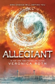 Official Cover of Allegiant by Veronica Roth