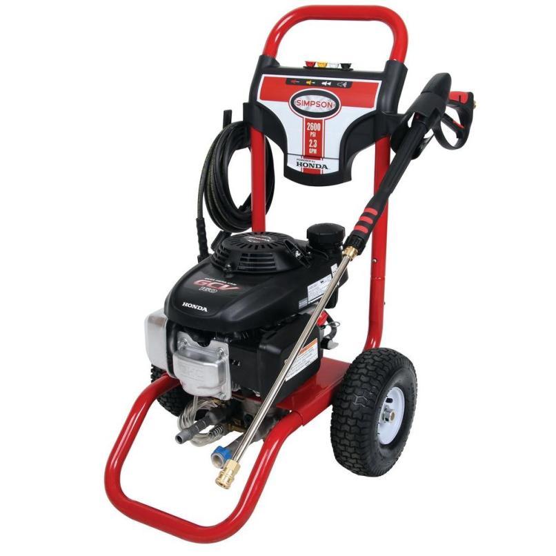 Honda Gcv160 Gas Pressure Washer Msv2623 S203177491 Simpson S