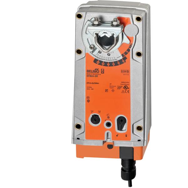 belimo efb24sr damper actuator download instruction manual pdf