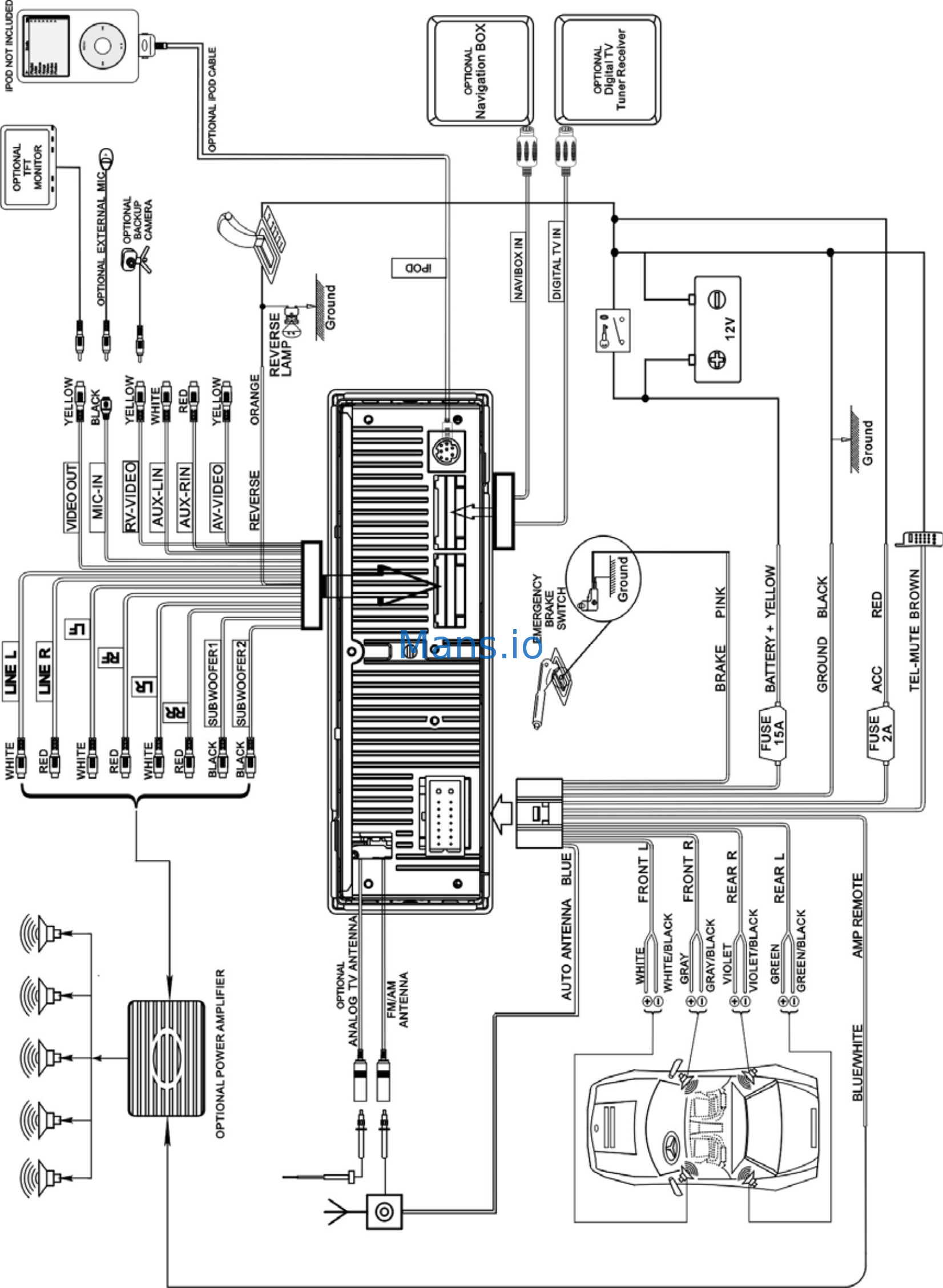 Q Power Wiring Diagram