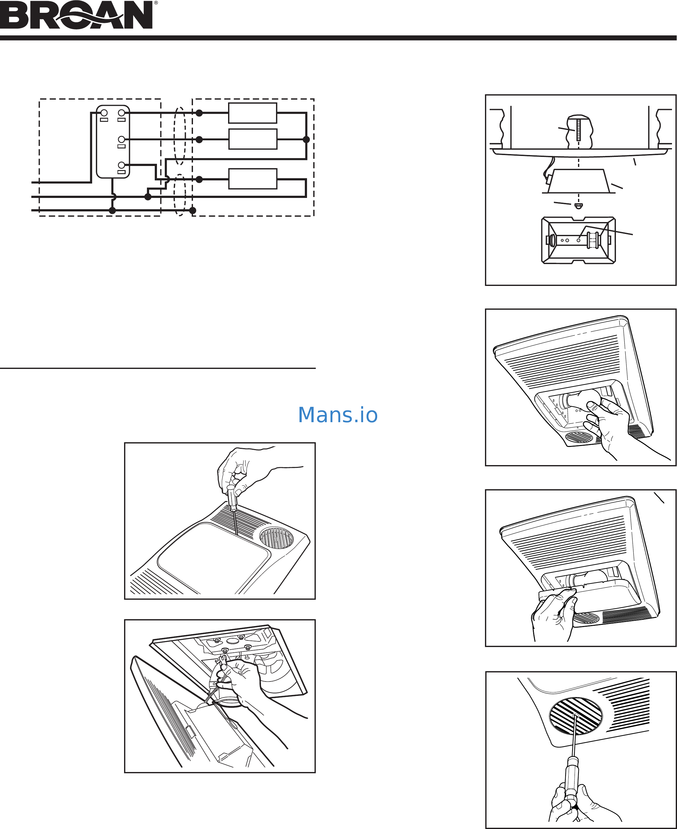 broan 100hl installation guide page 3