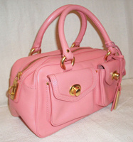 Pink tote