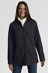Navy canvas field jacket