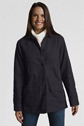 Navy canvas field jacket