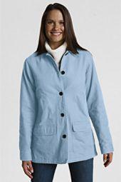 Light blue canvas field jacket