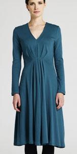 Dress in blue