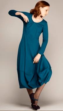 Teal Lantern dress