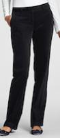 black velveteen trousers