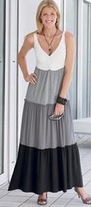 Damart maxi dress