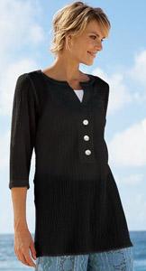 Orvis crinkle tunic