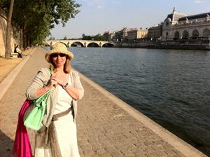 Trish in Paris