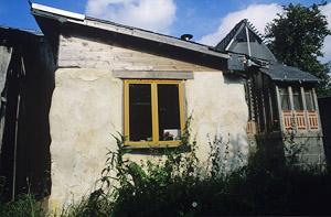 straw bale house