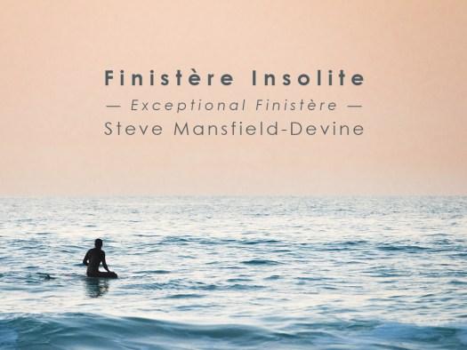 Finistere Insolite: book