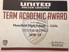 Team Academic Award