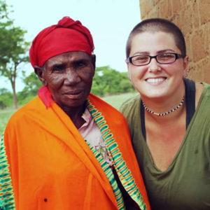 Molly Maroney in Tanzania.