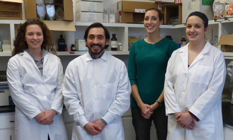 Mansfield Professor and Students Conduct Research in the Battle against Pancreatic Cancer
