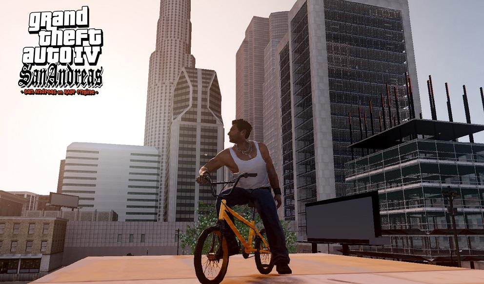 'Grand Theft Auto IV: San Andreas', el sueño de muchos realizado por unos fans (1/6)