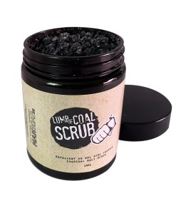 Lump of Coal Salt Scrub | Exfoliant au sel avec charbon