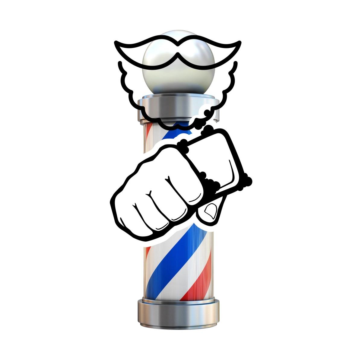 Barber Backbar