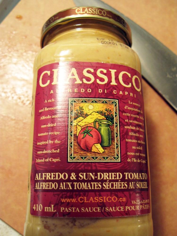 Italian Sausage & Sundried Tomato Alfredo - Quick Pantry Pasta (5/6)