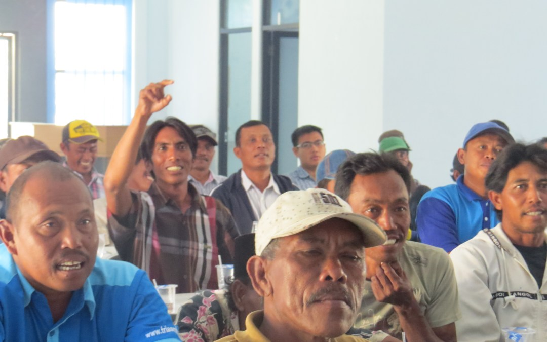 Bycatch reduction training for Muncar fishers