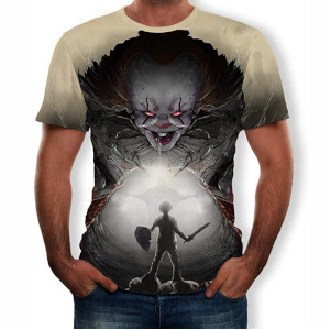 Camiseta Pennywise, IT, Terror