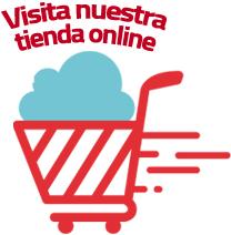 Tienda online de artículos de terror, manta y palomitas