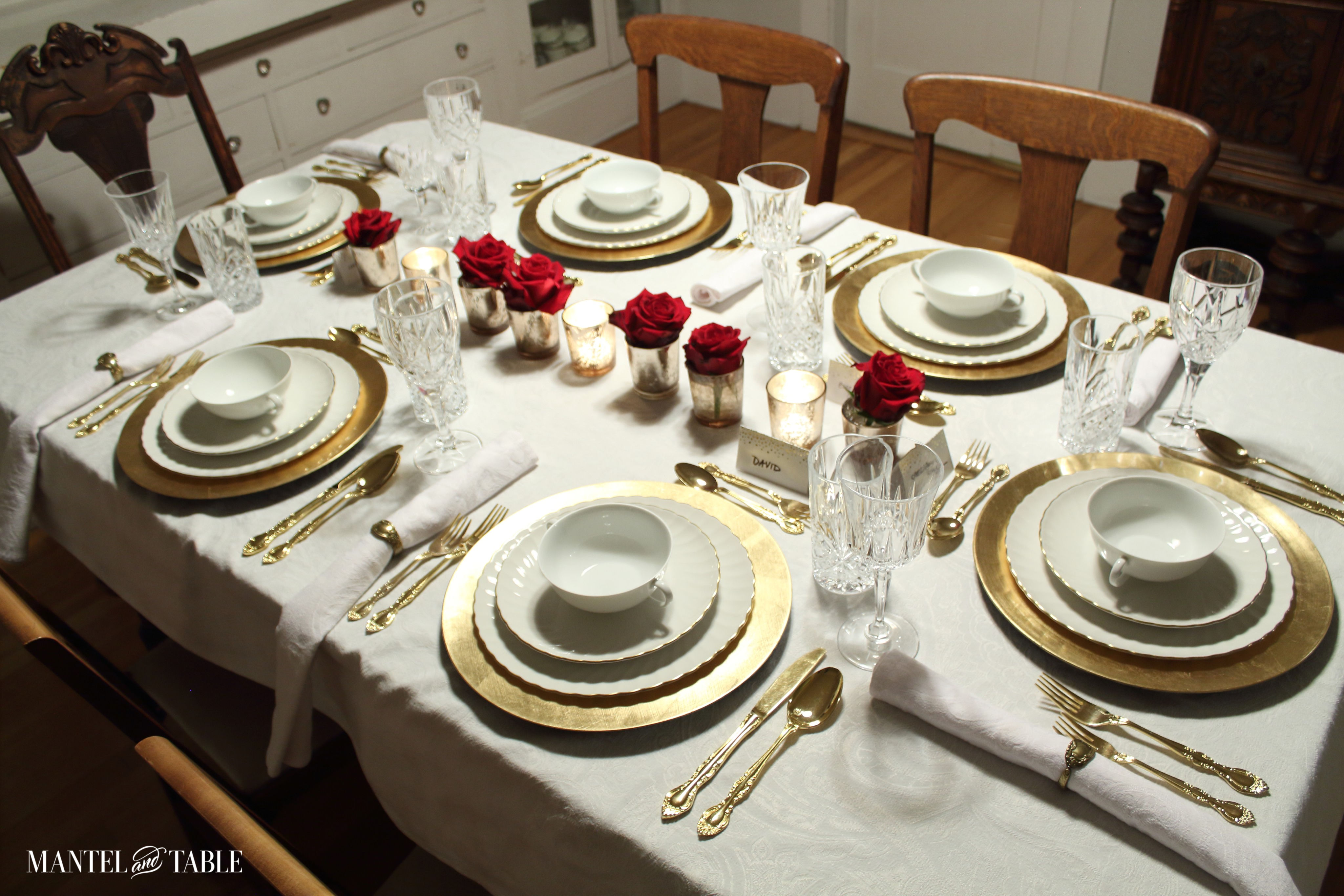 How To Set A Beautiful Formal Table, Formal Dining Room Table Set Up