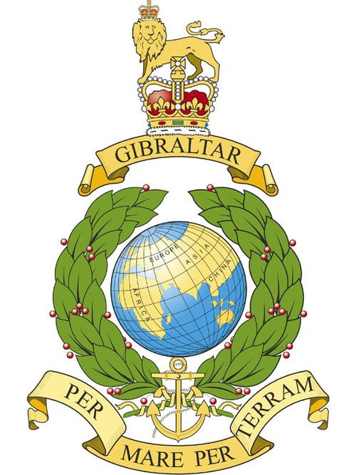 Present day Royal Marine Badge
